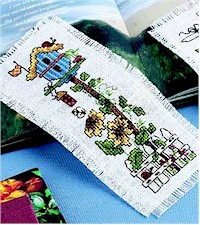 free cross stitch book mark