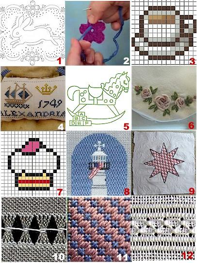 coffee motif cross stitch patterns