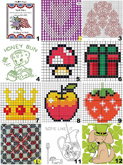 CHICKEN EMBROIDERY FREE PATTERN SCRATCH