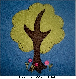 free patterntree applique