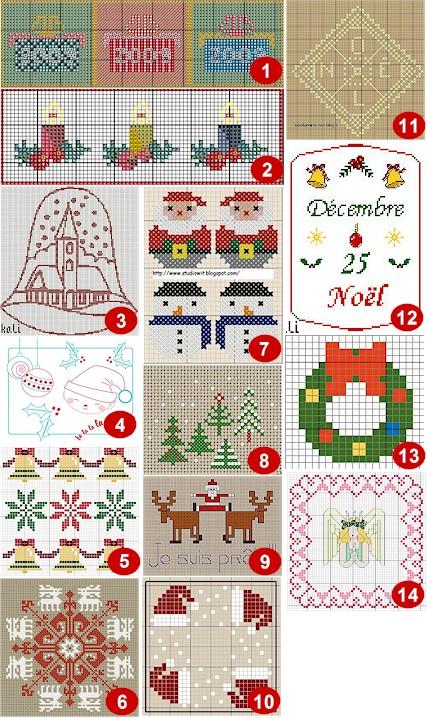 Christmas Cross Stitch Ornament Patterns Free Patterns