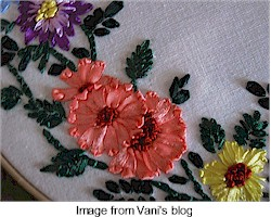 How to Do Ribbon Embroidery Video – 5min.com